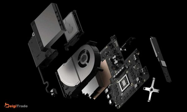 کنسول بازی مایکروسافت Xbox One X با ظرفیت 1 ترابایت
