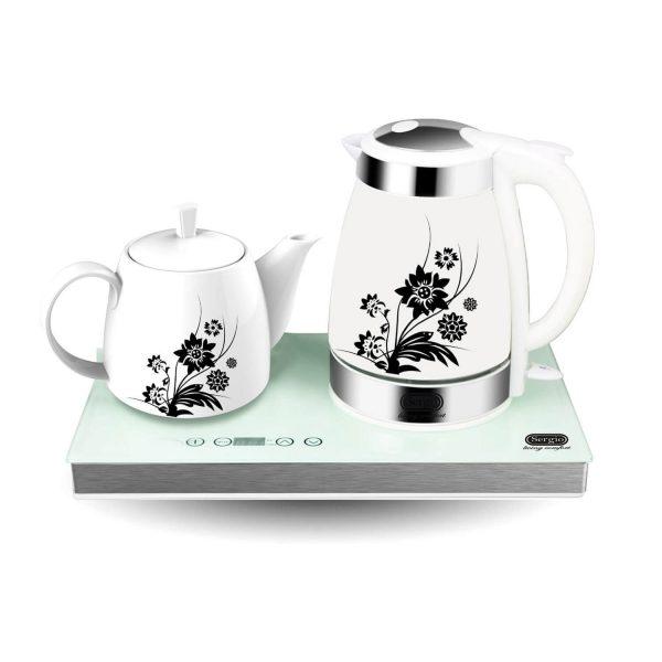 چای ساز سرامیکی لمسی سرجیو مدل STM-109