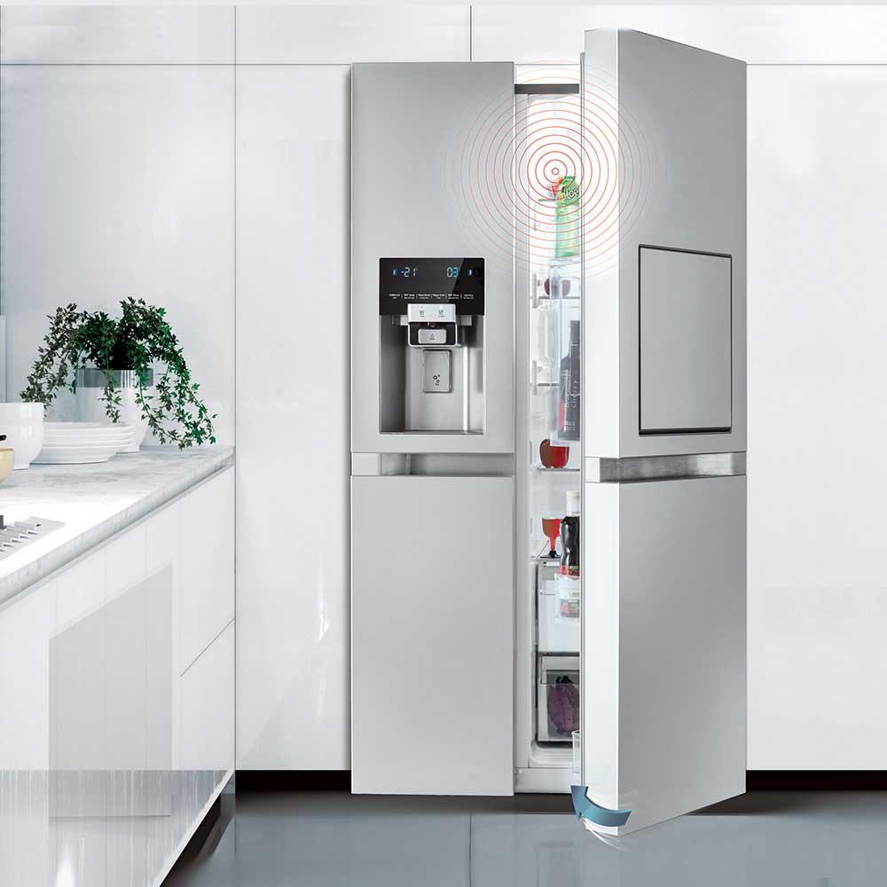 سامانه بسته شدن آهسته یخچال ساید بای ساید دوو مدل D2S-0037