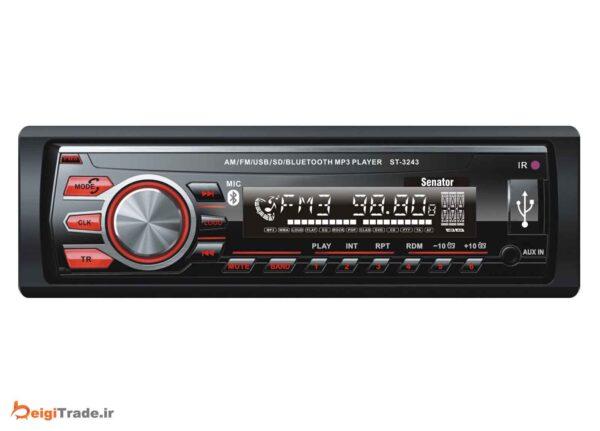 رادیو پخش خودرو سناتور مدل ST-3243X