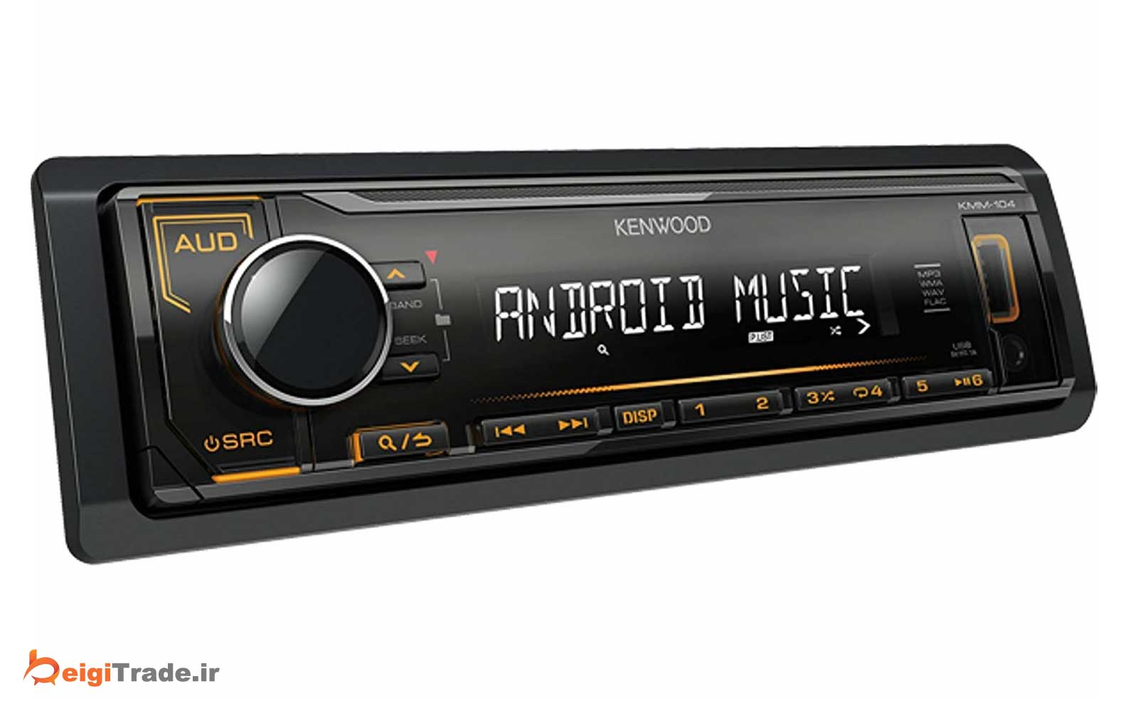 رادیو پخش خودرو کنوود مدل KMM-104
