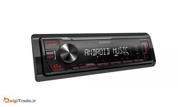 رادیو پخش خودرو کنوود مدل KMM-105