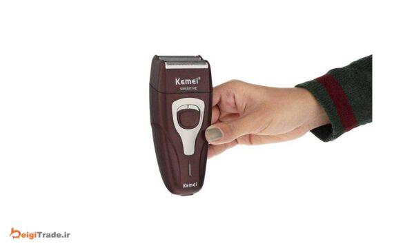 ماشین اصلاح موی صورت کیمی مدل KM-1123