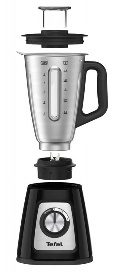 TEFAL BL4458 Blendforce 2 Metal Blender Black