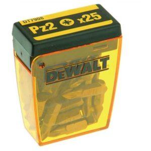 سر پیچ گوشتی 25 عددی دیوالت DT7908 PZ2